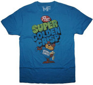 Vintage Post Super Golden Crisp Mens T-Shirt