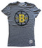 Vintage NHL Boston Bruins Ladies T-Shirt in Streaky Gray