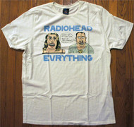 Radiohead Everything Mens T-Shirt By Junk Food Clothing