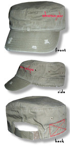 Silversun Pickups Distressed Cadet Cap