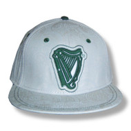 Guinness Embroidered Harp Flat Bill Cap