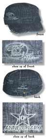American Idol 2011 Tour Distressed Cadet Cap