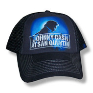 Johnny Cash San Quentin Truckers Cap
