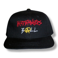 Headbanger's Ball Anarchy Logo Cap