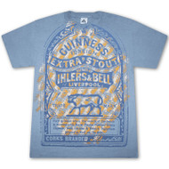 Guinness Foreign Extra Stout Sky Blue Graphic TShirt
