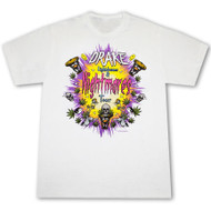 Drake Lightdreams Nightmares White Graphic T Shirt