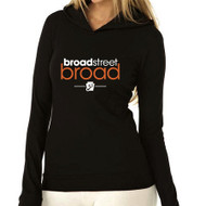 BROAD STREET BROAD LIGHTWEIGHT WOMENS THERMAL HOODY