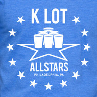 Copy of K LOT ALL STARS MENS AND WOMENS BLUE SHIRT