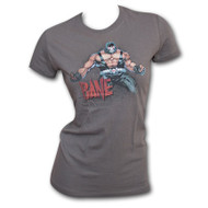Bane Muscle Womens Gray T-Shirt