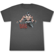 Bane Muscle Mens Gray T-Shirt