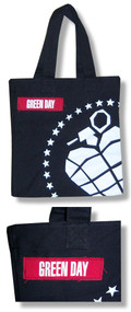 Green Day Big Grenade Tote Bag
