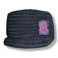 Fall Out Boy Logo Over Lock Cadet Beanie