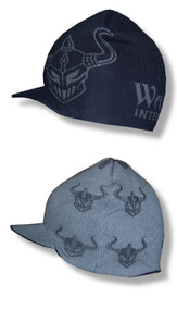 MMA Warrior Helmets All Over Print Reversible Billed Beanie