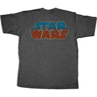 Star Wars Blue and Red Logo T-Shirt