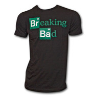 Breaking Bad Periodic Table Elements T-Shirt