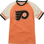 NHL Philadelphia Flyers Away Remote Control Vintage Style Mens T-Shirt