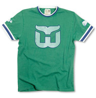 NHL Hartford Whalers Remote Control Vintage Stylw Mens T-Shirt in Kelly Green