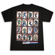 GI Joe Character Blocks Mens T-Shirt