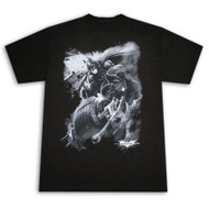 Batman Batrider Dark Knight Rises Mens T-Shirt