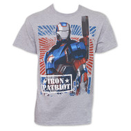 Iron Man Iron Patriot Mens T-Shirt