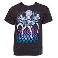 Star Wars Storm Troopers Disco Dance Mens T-Shirt