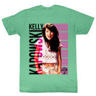 Saved By the Bell Kelly Kapowski Kapowskiing Adult Tee Shirt