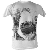 Jaws Screen Mens Tee Shirt