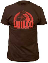 WILCO RISING EARLY SINCE 94 FITTED JERSEY TEE