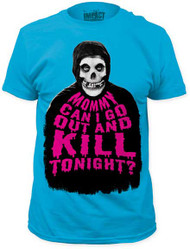 THE MISFITS …KILL TONIGHT? MENS FITTED JERSEY TEE