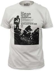 VELVET UNDERGROUND COME. STEP SOFTLY MENS FITTED JERSEY TEE