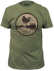 WOODSTOCK 1969 MENS FITTED JERSEY TEE