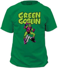 MARVEL TEES GREEN GOBLIN MENS TEE