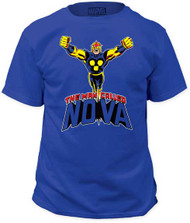 MARVEL TEES NOVA ORIGIN MENS TEE