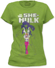 MARVEL TEES SHE-HULK THE SAVAGE JUNIORS TEE