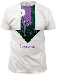 MARVEL TEES HAWKEYE SIX NIGHTS… MENS FITTED JERSEY TEE