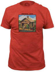 GRATEFUL DEAD TERRAPIN STATION MENS FITTED JERSEY TEE