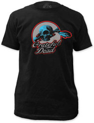 GRATEFUL DEAD STOP NUCLEAR POWER MENS FITTED JERSEY TEE