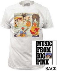 THE BAND BIG PINK MENS FITTED JERSEY TEE