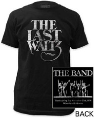 THE BAND THE LAST WALTZ MENS FITTED JERSEY TEE