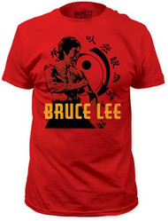 BRUCE LEE HI-YAH! MENS FITTED JERSEY TEE