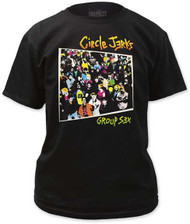 CIRCLE JERKS GROUP SEX MENS TEE