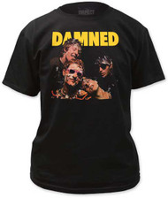 THE DAMNED DAMNED DAMNED DAMNED MENS TEE