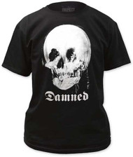 THE DAMNED MIRROR SKULL MENS TEE
