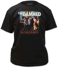 THE DAMNED MACHINE GUN ETIQUETTE MENS TEE