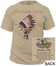 GRATEFUL DEAD SPRING 1990 GARMENT DYED MENS TEE