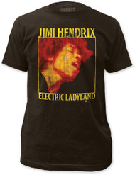JIMI HENDRIX ELECTRIC LADYLAND FITTED JERSEY TEE