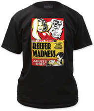 REEFER MADNESS FITTED JERSEY TEE