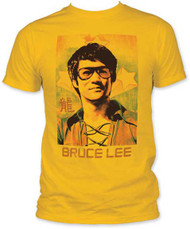BRUCE LEE SUNGLASSES FITTED JERSEY TEE