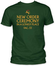 NEW ORDER IN A LONELY PLACE MENS FITTED JERSEY TEE