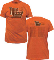 THIN LIZZY 79 TOUR FITTED JERSEY TEE